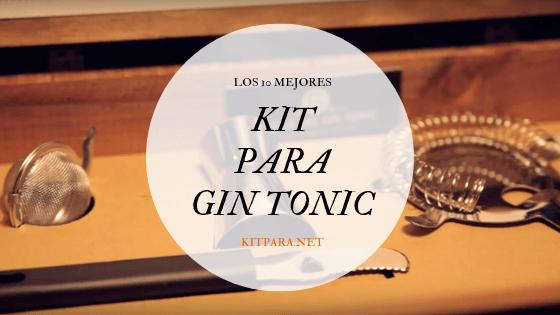 kit para gin tonic