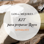 Kit para hacer queso